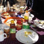 breakfast on your kilimanjaro trek